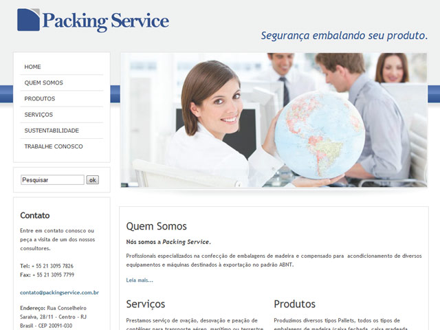 PACKING SERVICE WEB